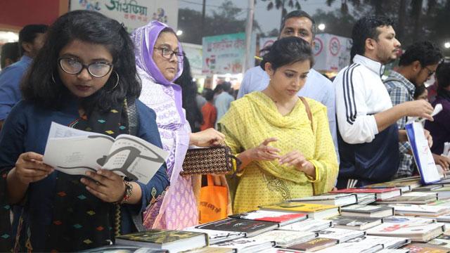 Ekushey Book Fair extended by 2 days