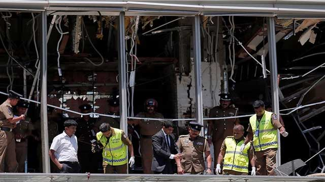US condemns outrageous terrorist attacks in Sri Lanka