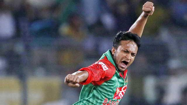 Shakib goes top of all-rounders' rankings