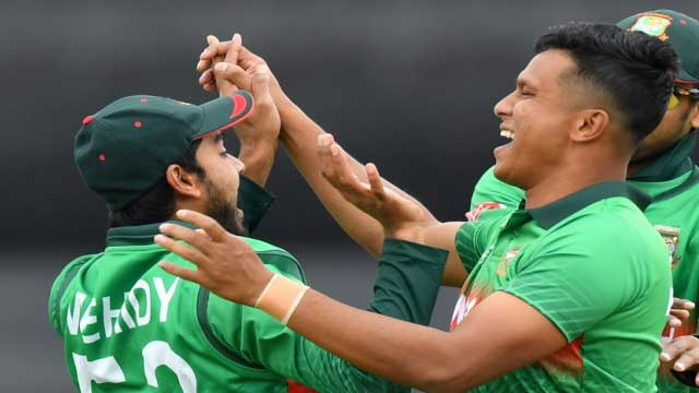 Tigers need record 322 against West Indies