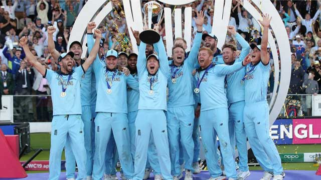 England win Cricket WC after super-over drama