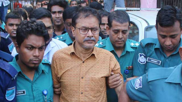 Suspended ACC director Enamul sent to jail