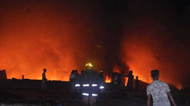 Lalbagh factory fire extinguished