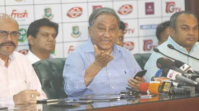 BCB president smells conspiracy in players' strike