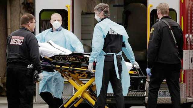 US coronavirus death toll passes 3,000