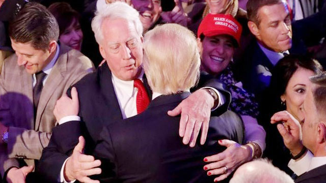 Trump's brother Robert hospitalized
