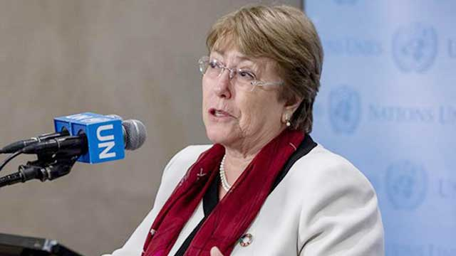UN rights chief urges DSA review, suspension