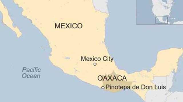 মেক্সিকোতে ৭.২ মাত্রার ভূমিকম্প