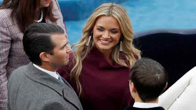 Trump Jr's wife taken to hospital after opening envelope with white powder