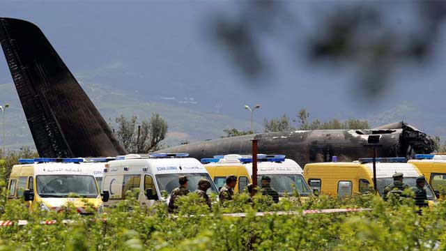 250 killed in Algerian military plane crash
