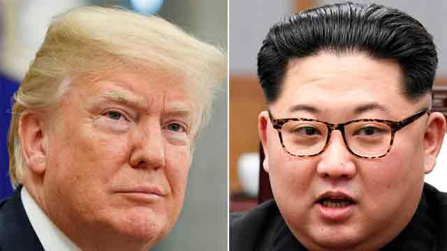 Trump suggests summit with NKorea's Kim could be delayed