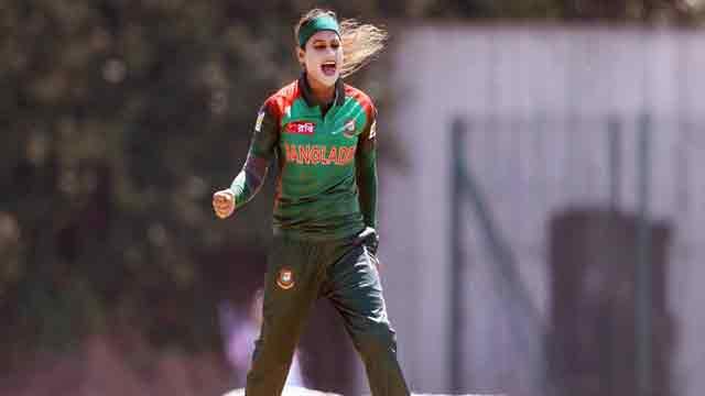 Jahanara's five-for set up Bangladesh win