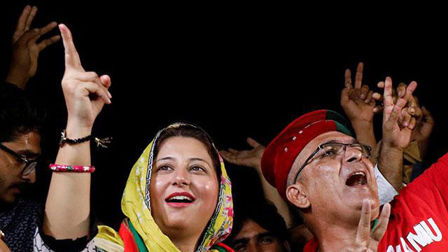 PTI leads with 110 NA seats