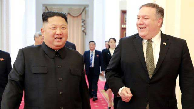 N Korea demands removal of Pompeo from talks