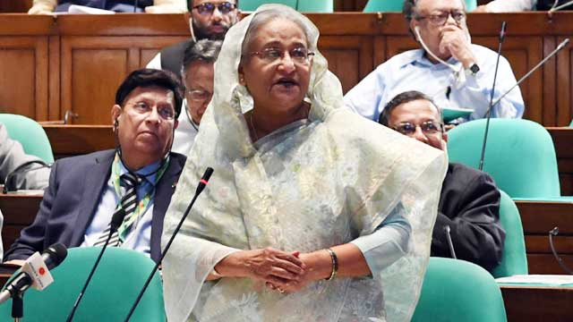 Public perception about graft by ACC staff not fully false: Hasina