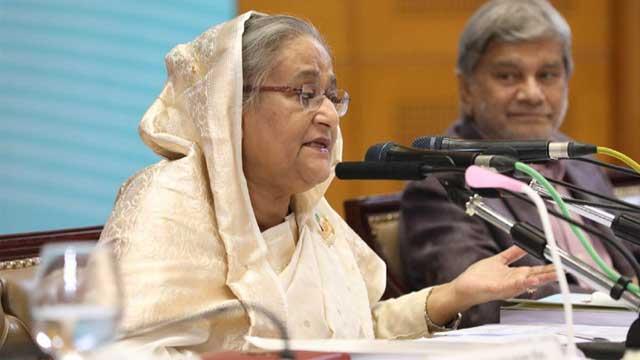 Hasina finds budget critics 'mentally sick'