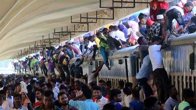 Train schedules collapse again