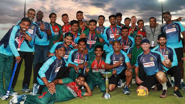 Under-19 team to be accorded heros welcome at home