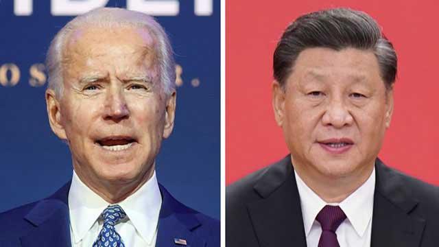 China congratulates Biden after long silence