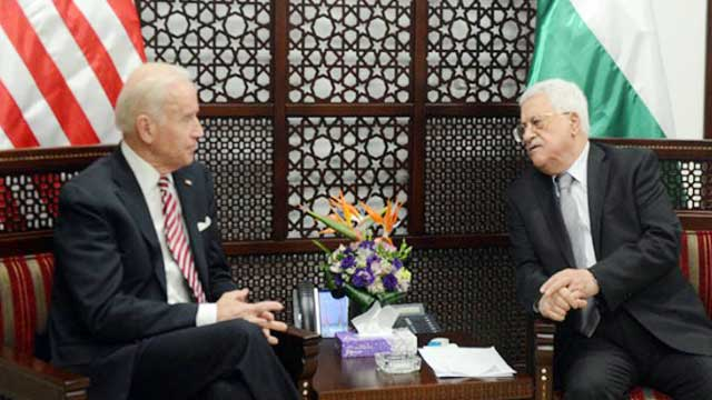 Biden makes first call to Abbas amid Israel-Gaza fighting