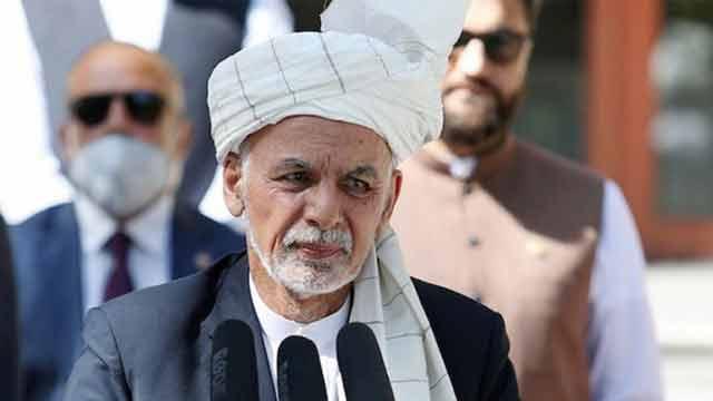 Afghanistan's fleeing president Ashraf Ghani resurfaces in UAE