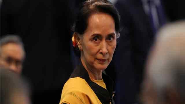 If Suu Kyi was closer, 'She might have hit me'