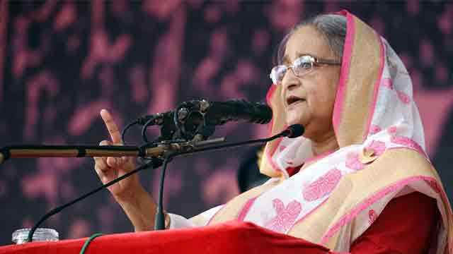 Be united against anti-liberation forces: Hasina