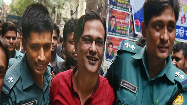 Singer Asif sent to jail