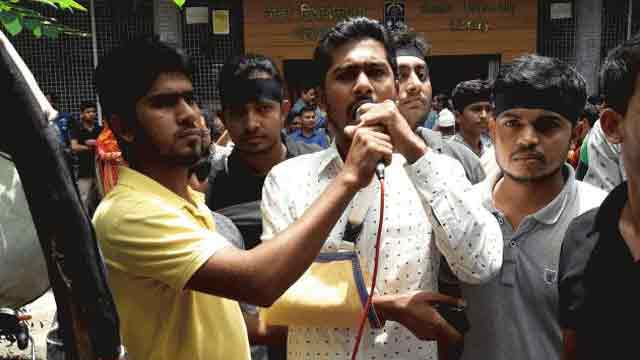 Quota protesters give 3 conditions