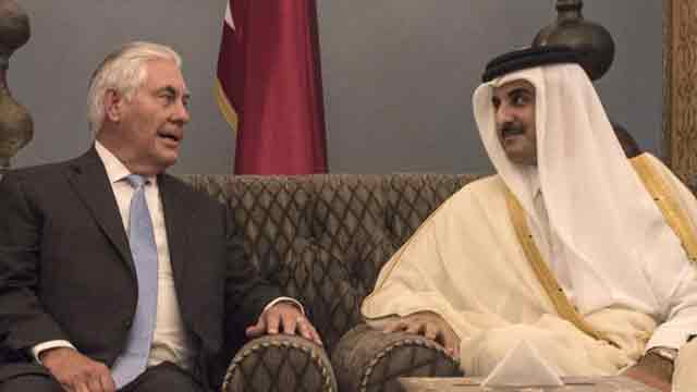 Tillerson stopped Saudi and UAE from attacking Qatar