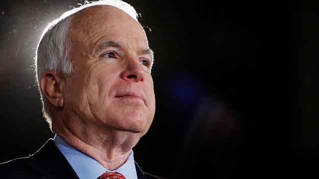 Former presidents lead McCain tributes