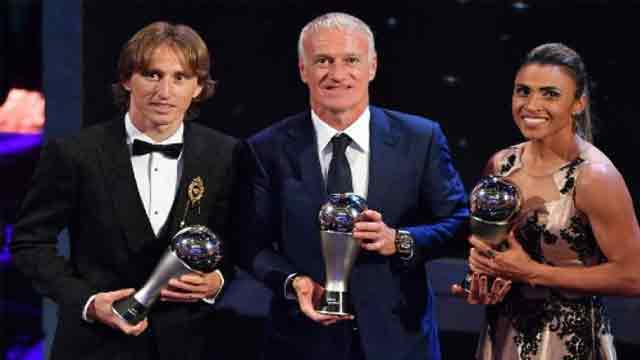 Modric crowned world's best, ends Ronaldo-Messi era
