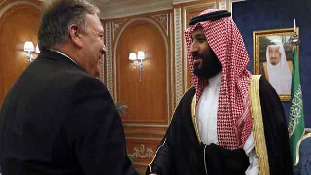 Pompeo meets Saudi Crown Prince