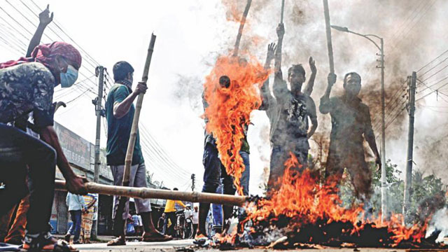 250 sued over jute mill workers, police clash in Khulna