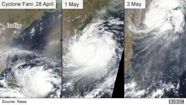 Cyclone Fani: Powerful storm slams into eastern India coast