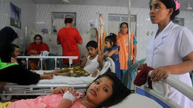 Dengue patients on rise