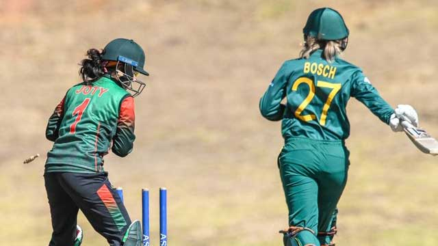 Bangladesh women triumph in South Africa