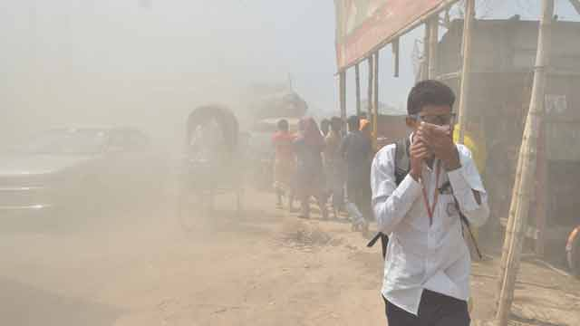 Dhaka has world's worst air for 3rd day in a row
