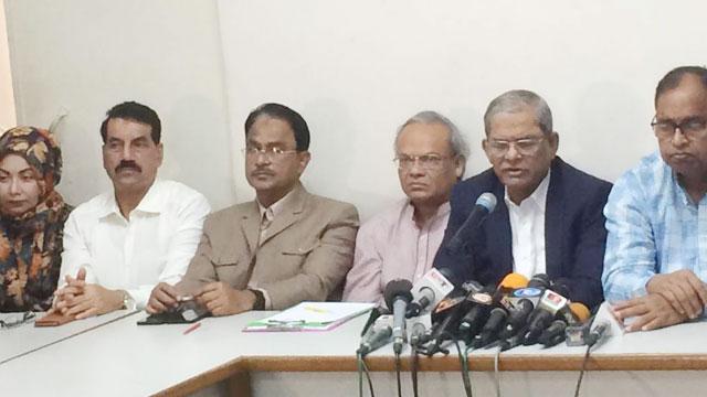 BNP's procession Saturday seeking Khaleda Zia's release