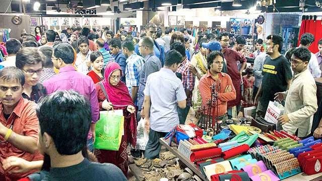 Dhaka shopping centres not opening before Eid