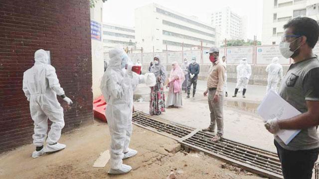 Bangladesh sees further spike in coronavirus cases