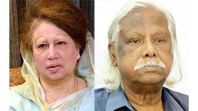 Khaleda Zia phones Zafrullah to know health condition