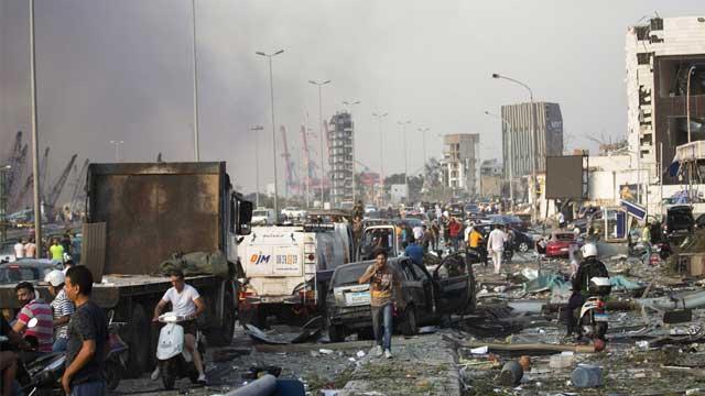 2 Bangladeshis killed, 21 Bangladesh Navy crew injured in Beirut blasts