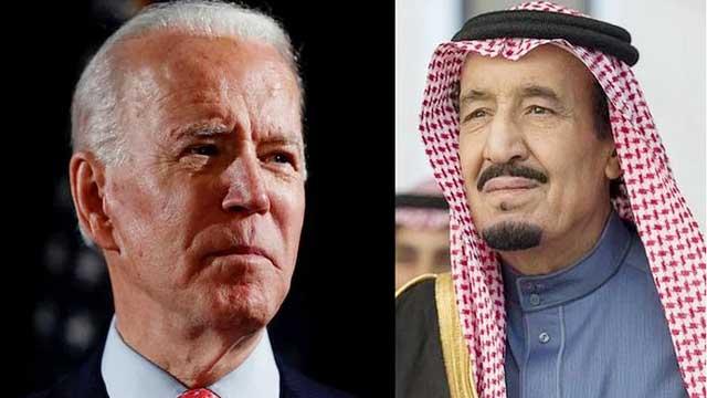 Biden speaks with King Salman, raises Yemen, human rights issues