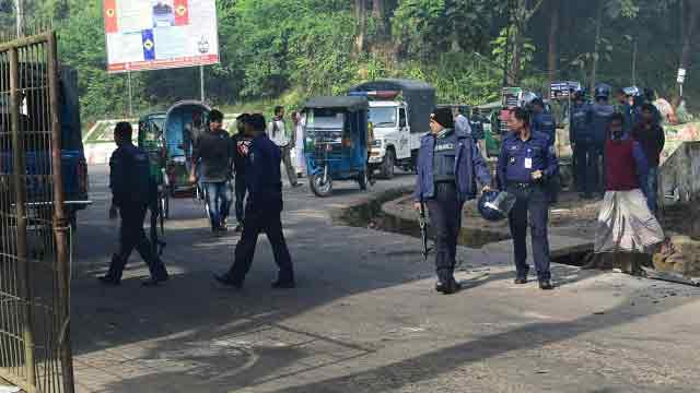 CU blockaders halt train, bus services