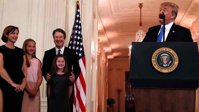 Trump nominates Brett Kavanaugh to the US Supreme Court