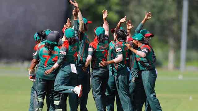 Bangladesh Women cruise into WT20
