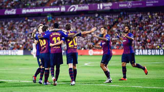 Barcelona, Atletico secure narrow wins