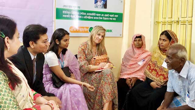 Progress over financial inclusion in Bangladesh exciting: Queen Maxima