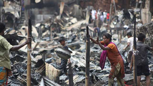 Mirpur slum fire: 3-member probe body formed